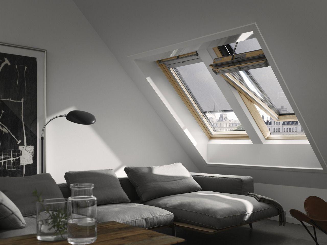 Lucernari e finestre per tetti - Infissi porte e ...